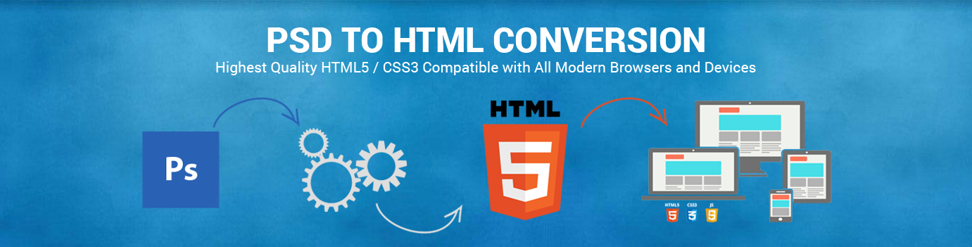 Best PSD To HTML Conversion Services