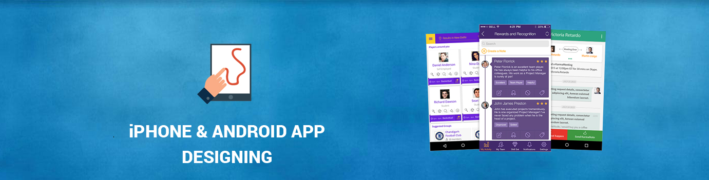 Best iOS and Android App Designing Services