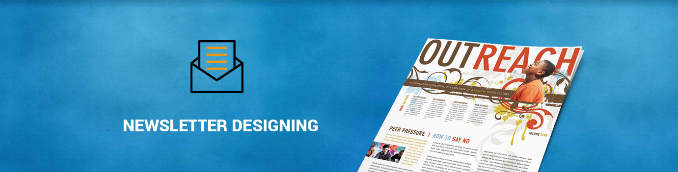Newsletter and Email Template Designing Services