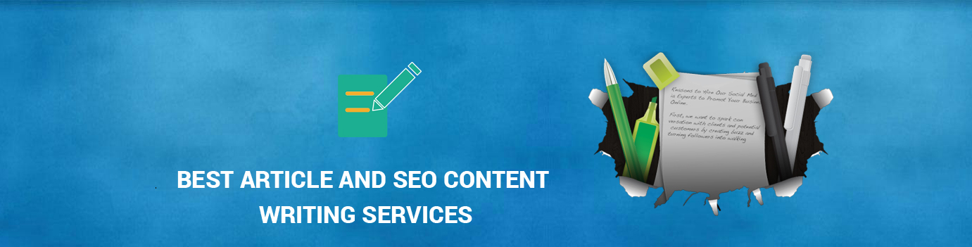 Best Article and SEO Content Writing Services
